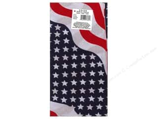 Shabby Fabrics Independence Day: Darice Bandana 22 x 22 in. Stars & Stripes