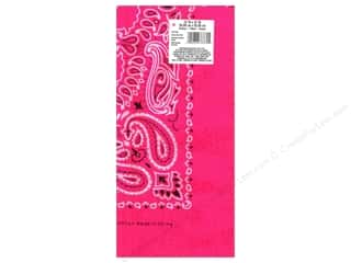 Scarf / Scarves Neon: Darice Bandana 22 x 22 in. Neon Pink Paisley