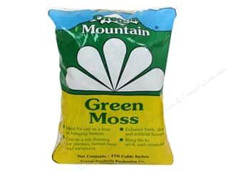 Moss Oregon Mountain Moss: Oregon Mountain Green Moss 410 Cubic Inch Bag