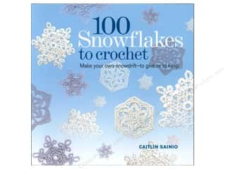 crochet books: 100 Snowflakes To Crochet Book