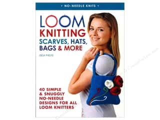 knitting books: St Martin's Griffin Loom Knitting Scarves Hats Bags & More Book by Isela Phelps