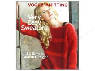 Vogue Knitting Very Easy Sweaters Book