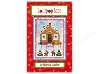 Marcia Layton Designs Stitchery, Embroidery, Cross Stitch & Needlepoint: Marcia Layton Designs Lollipop Lane Pattern