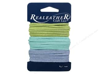 Silver Creek Soft Suede Lace 3/32 in. x 8 ft. Assorted Summer