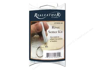 Leatherwork Size: Silver Creek Rivet Setter Kit