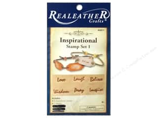 Leatherwork: Silver Creek Stamp Set Inspirational 1