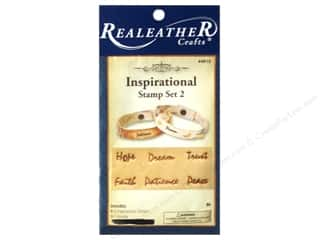 Leatherwork Craft & Hobbies: Silver Creek Stamp Set Inspirational 2