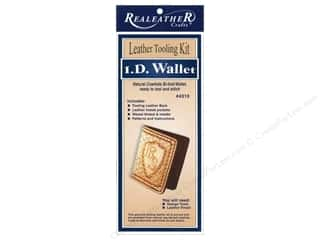 Leather Supplies Kits: Silver Creek Leather Tooling Kit  I D Wallet