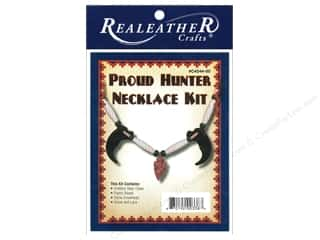 Leatherwork Family: Silver Creek Kit Proud Hunter Necklace
