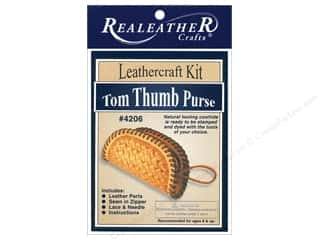 Leather Supplies Kits: Silver Creek Realeather Kit  Tom Thumb Change Purse