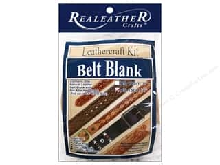 Crafting Kits 2 oz: Silver Creek Leather Belt Blank 1 1/2 in.