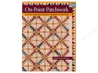 Books Clearance: That Patchwork Place On Point Patchwork Book by Donna Lynn Thomas