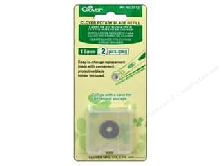 Weekly Specials Rotary: Clover Rotary Cutter Blade Refill 18 mm 2 pc.