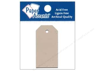 Paper Accents Craft Tags 0.875x1.75 25pc Kraft
