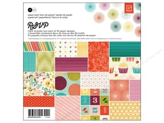 BasicGrey Paper Pad 6 x 6 in. RSVP 36 pc.