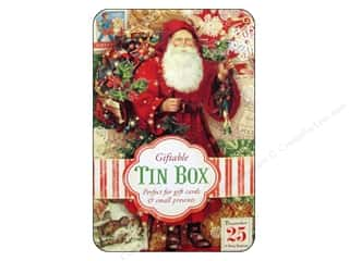 Punch Studio Gift Card Holder Christmas Victoriana