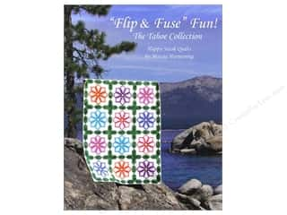 Clearance Books: Happy Stash Quilts Flip & Fuse Fun! Book by Marcia Harmening