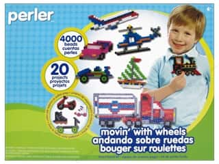 Perler Fused Bead Kit Movin' With Wheels