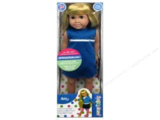 26-gauge floral wire: Springfield Dolls 18 in. Blonde Abby