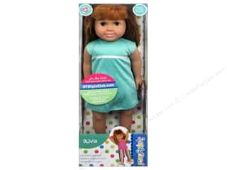 Dolls and Doll Making Supplies: Fibre-Craft Springfield Dolls 18 in. Red Head Olivia