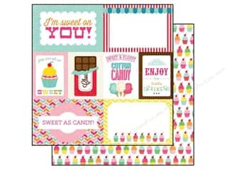 Echo Park 12 x 12 in. Paper I Love Candy Journaling (15 piece)