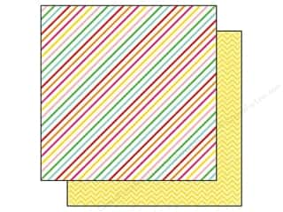 Echo Park 12 x 12 in. Paper I Love Candy Candy Stripe (15 piece)
