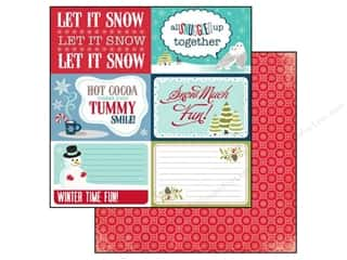 Clearance Blumenthal Favorite Findings: Echo Park 12 x 12 in. Paper Keepin' Cozy Let It Snow (25 piece)