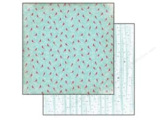 Clearance Blumenthal Favorite Findings: Echo Park 12 x 12 in. Paper Keepin' Cozy Cozy Cardinals (25 piece)