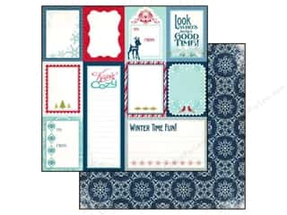 Clearance Blumenthal Favorite Findings: Echo Park 12 x 12 in. Paper Keepin' Cozy Journaling Cards (25 piece)