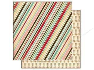 Carta Bella Paper 12x12 Homemade Baking Stripe (25 piece)