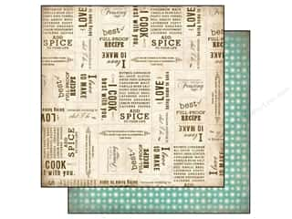 Carta Bella Paper 12x12 Homemade Baking Words (25 piece)