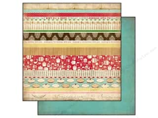 Carta Bella Paper 12x12 Homemade Baking Border Str (25 piece)