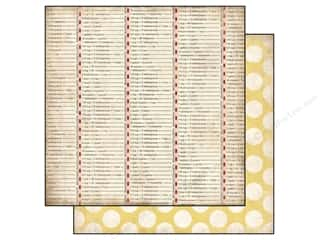 Carta Bella 12 x 12 in. Paper Conversion Table (25 piece)