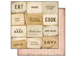 Carta Bella 12 x 12 in. Paper Must Bake (25 piece)