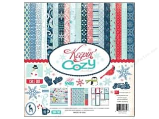Echo Park Paper Company Echo Park Collection Kit: Echo Park 12 x 12 in. Keepin' Cozy Collection Kit