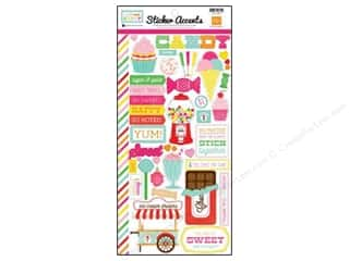 Echo Park Sticker 6x12 I Love Candy (15 set)