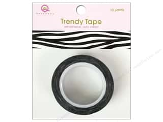 Queen & Company Queen&Co Trendy Tape: Queen&Co Trendy Tape 10yd Zebra
