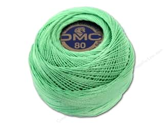 DMC Tatting Cotton Size 80 Light Green (10 balls)