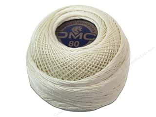 DMC: DMC Tatting Cotton Size 80 Ecru (10 balls)