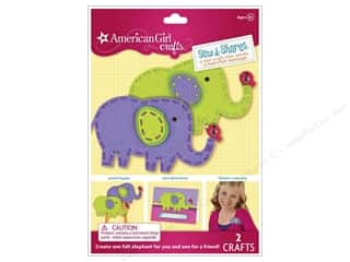 Weekly Specials DieCuts Box of Cards: American Girl Kit Sew & Shares Elephants