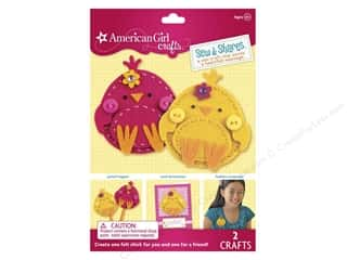 Weekly Specials DieCuts Box of Cards: American Girl Kit Sew & Shares Chicks