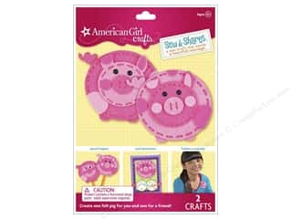 felting kits: American Girl Kit Sew & Shares Pigs