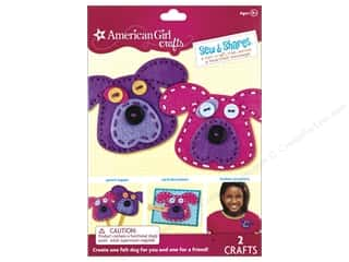 Kid Crafts Crafting Kits: American Girl Kit Sew & Shares Dogs