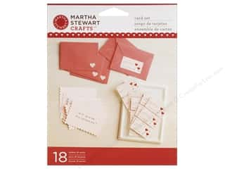 Papers Valentine's Day: Martha Stewart Card & Envelope Valentine Stamp Set