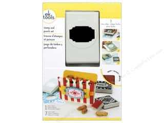 EK Paper Punch & Stamp Set It's A Party