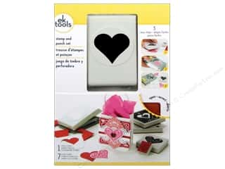 Stamps Hearts: EK Paper Punch & Stamp Set Sweetheart