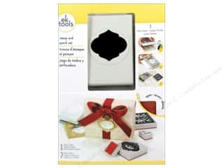 Stamps Christmas: EK Paper Punch & Stamp Set Holiday Ornament