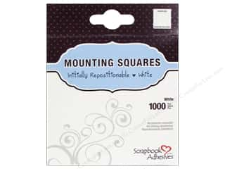 Scrapbooking Clear: 3L Scrapbook Adhesives Mounting Squares 1000 pc. Repostitionable