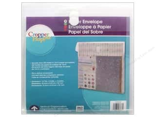 Forster More for Less SALE: Cropper Hopper Vertical Organizers Paper Envelope 12 x 12 in.