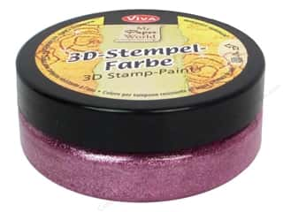 Viva Decor 3D Stamp Paint 1.7 fl oz Rose